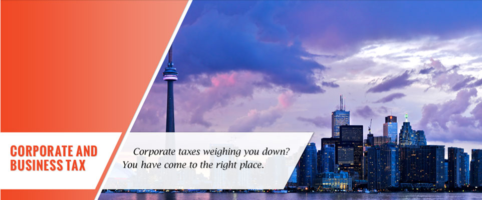 Corporate and business tax