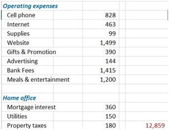 This is the Operating & Other Expenses portion of the preparing financial statements lesson.