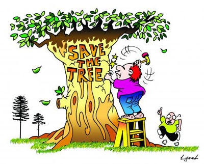 save trees