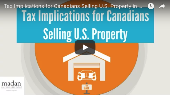 Tax Implications for Canadians selling US property, real