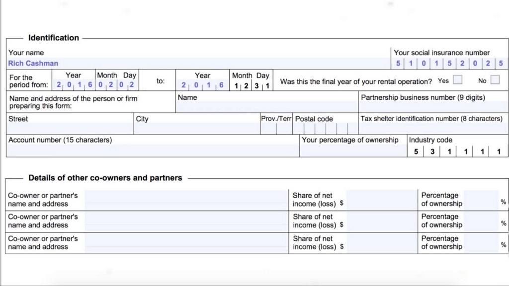 How to Prepare a Rental Form Step 2