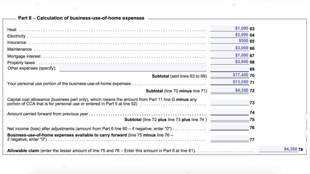 Home Office Expenses -1