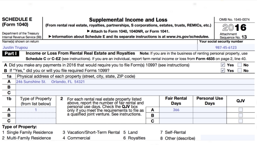 Part 2: How to Prepare a 1040-NR Tax Return for U S  Rental