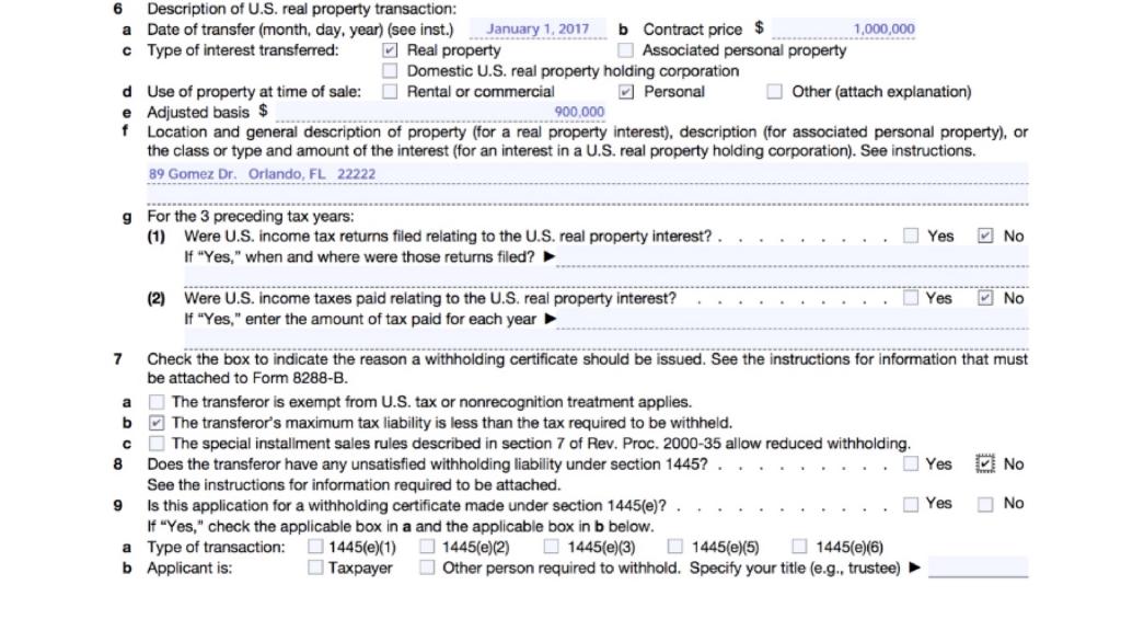 Form 8288-B