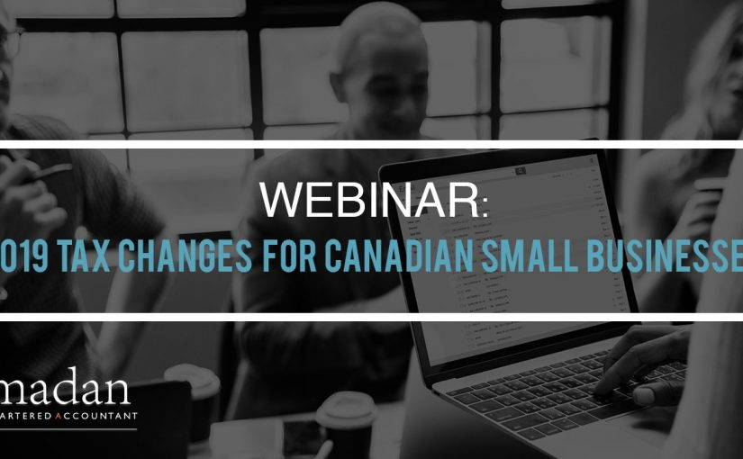 2019 Small Business Changes Canada
