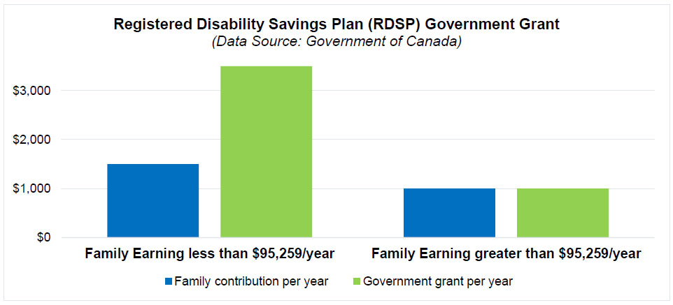 Registered Disability Savings Plan (RDSP) Government Grant